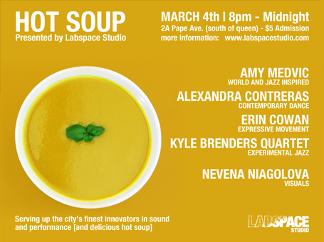 hot soup at labspace