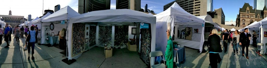 Nevena at Toronto Outdoor Art Show at Nathan Phillips Square