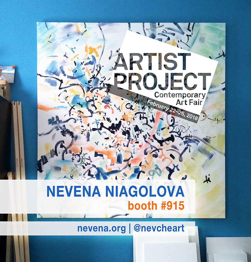 Nevena Niagolova at the Artist Project 2018